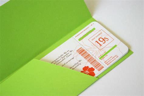 boarding pass envelope templates young women