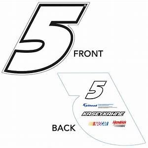 Kasey Kahne #5 Logo Big Head Sign | Shop Fathead® for ...