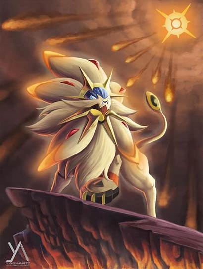 Solgaleo Pokemon Sun Moon Ash Anime Fan