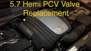 How To  Chrysler Hemi 5 7 Pcv Valve Replacement