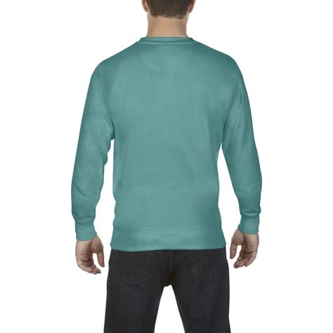 seafoam comfort colors cc1566 comfort colors crewneck sweatshirt seafoam