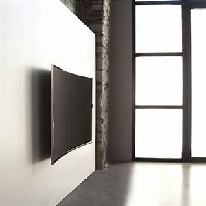 Meuble Tv Accroché Au Mur : erard kit pour crans incurv s support mural tv erard group sur ~ Melissatoandfro.com Idées de Décoration