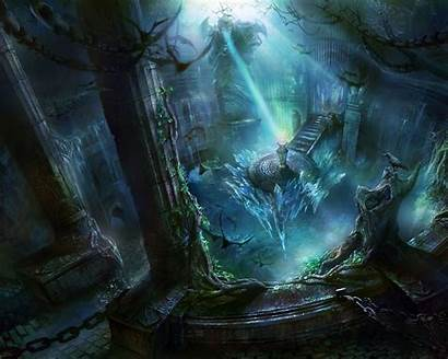 Fantasy Magic Wallpapers Background Backgrounds Desktop Alphacoders