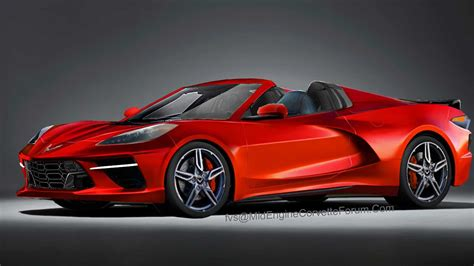 C8 Corvette News by Mid Engined C8 Corvette Rendered As Hardtop Convertible