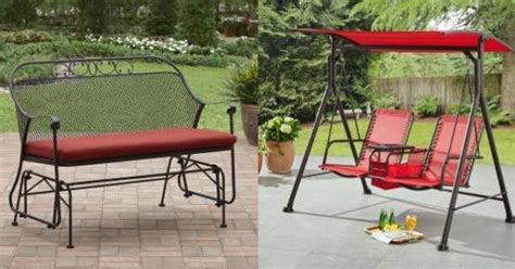 better homes gardens outdoor glider just 99 99 shipped