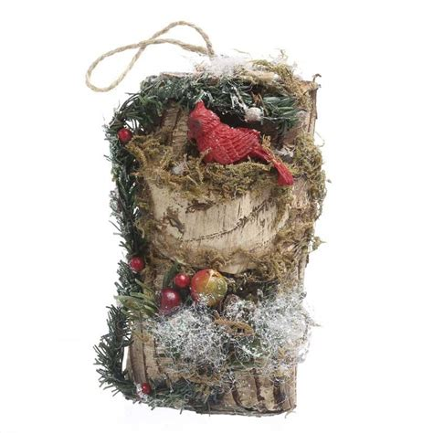 sparkling woodland christmas ornament new items