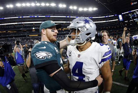 eagles   stay afloat  cowboys