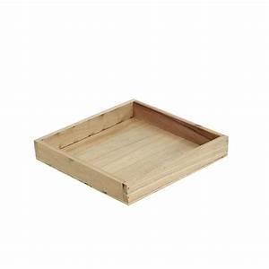 Tablett Aus Holz : tablett aus holz klein natur 19cm x 19cm h3cm kaufen in schweiz ~ Buech-reservation.com Haus und Dekorationen