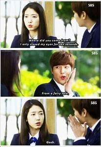 Heirs K Drama Funny Quotes. QuotesGram
