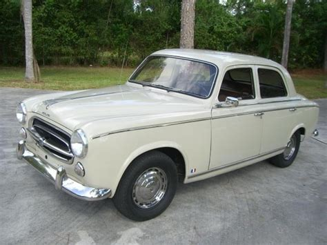 Peugeot 403 For Sale 1960 peugeot 403 for sale classic cars for sale uk