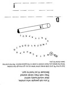 No Smoking Word Search Puzzles
