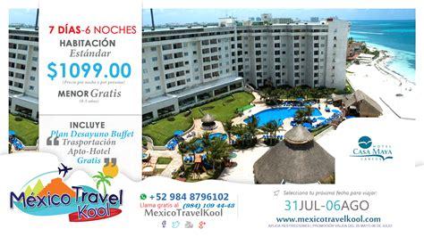 Mexico Travel Kool | Transportacion, Hotel, Desayuno buffet