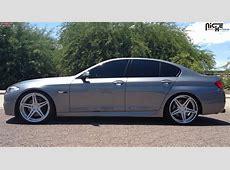 BMW 550i Niche Sportiva M207 Wheels Brushed Hi Luster