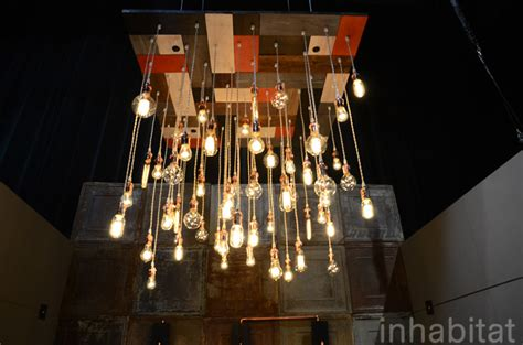 chandy s recycled chandeliers use vintage edison