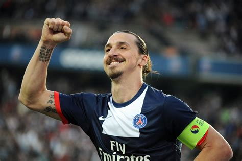 Zlatan Ibrahimovic Gave A Classic Zlatan Quote On Coming