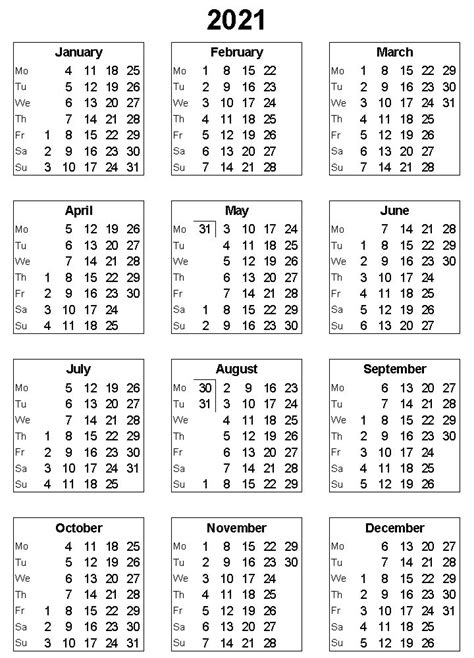 printable  calendar excel word monthly template
