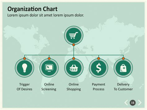 commerce infographic keynote template  kh