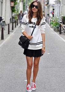 10 Fool Proof Ways To Wear Sneakers With Dresses And Skirts | MissMalini