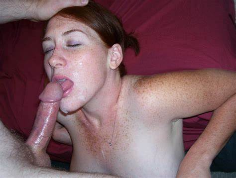 Freckle Faced Immature Curly Coed With