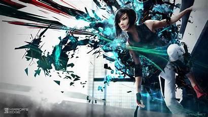 Edge Mirror Games Mirrors Sci Fi Wallpapers