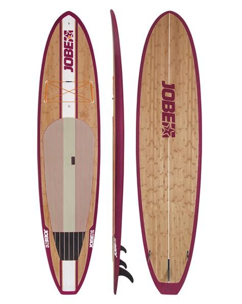 planche stand up paddle rigide jobe bamboo 11 6 quot