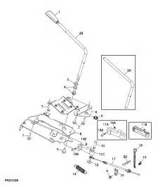 deere l110 blade will not engage new belt when i put the