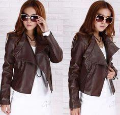 jaket kulit korean style coklat jaket semi kulit jual jaket kulit