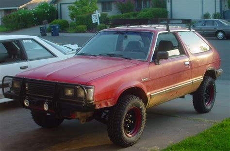 subaru justy lifted what did you wheel in before ih8mud forum