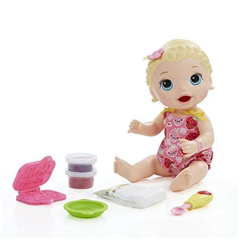 Baby Alive Super Snacks Snackin' Lily (Blonde)   Buy
