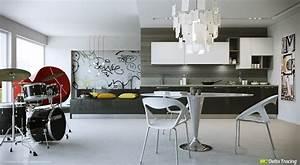 Diseño de cocinas modernas: iluminación de interiores Construye Hogar