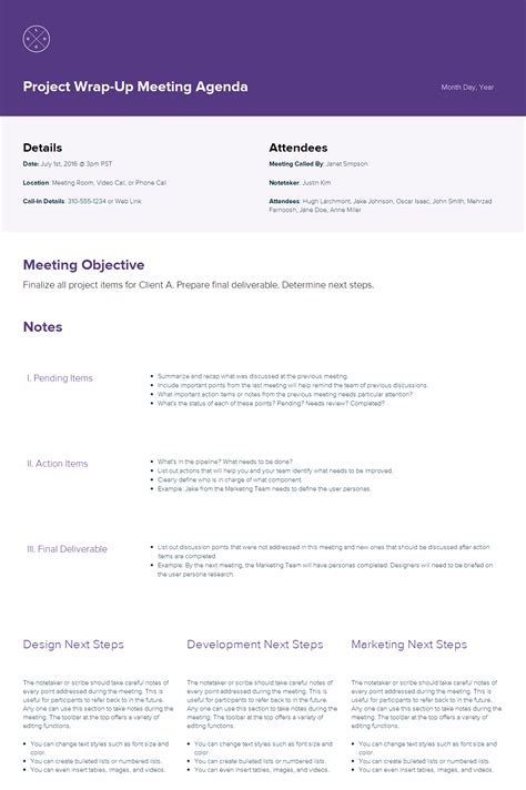 create  meeting agenda  step  step guide xtensio
