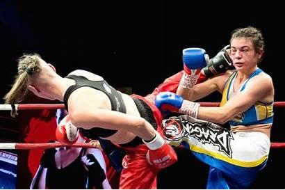Budapest Boxing Hungary Kick Renata Ukraine