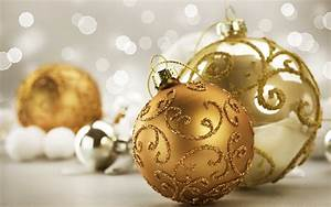 Gold, Christmas, Ornaments, Pictures, U0026, Photos