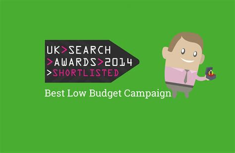 Uk Search Awards 2014 – Best Low Budget Campaign Nominee