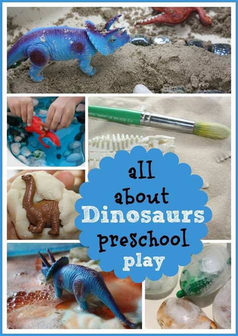 dinosaur projects for preschool icy dinosaur excavation sensory play bins for 691