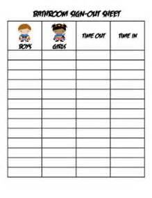 Teacher Bathroom Pass Ideas by Superhero Bathroom Sign Out Sheet Printables Theme