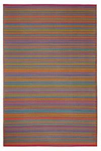 Tapis Intérieur Extérieur : tapis int rieur ext rieur cancun multicolore petit ~ Teatrodelosmanantiales.com Idées de Décoration