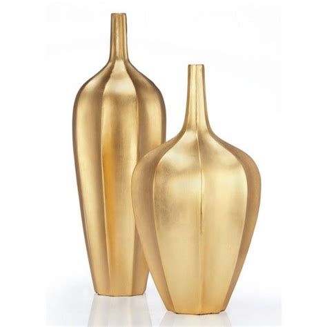 Gold Colored Vases by Accolade Vase 60 Liked On Polyvore Featuring Home Home