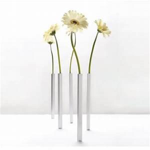 Vase Für Eine Blume : peleg design magnetic vase 5er set silber online kaufen online shop ~ Sanjose-hotels-ca.com Haus und Dekorationen