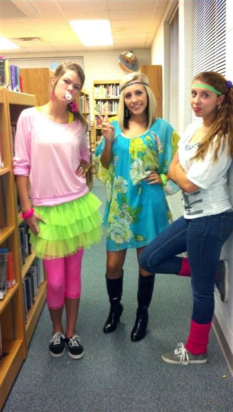 Our Decade Day costumes for homecoming week! | Sarah.. | Pinterest | Homecoming week The ou0026#39;jays ...