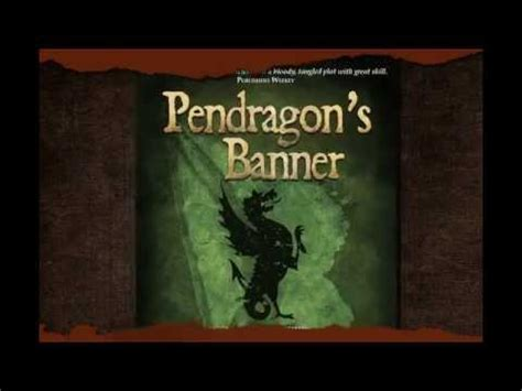 the pendragon s banner trilogy book trailer