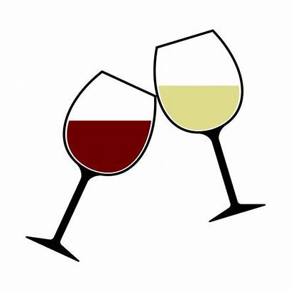 Wine Cheers Glasses Clink Isolated Clip Clipart