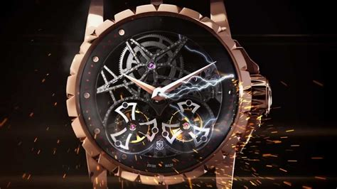 roger dubuis the emblematic excalibur skeleton