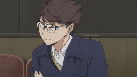 angry oikawa   glasses haikyuu anime oikawa