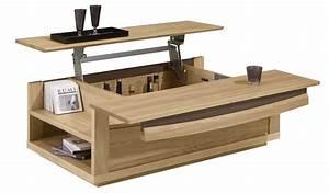 Table De Salon Modulable : votre nouvelle table basse relevable est ici ~ Teatrodelosmanantiales.com Idées de Décoration
