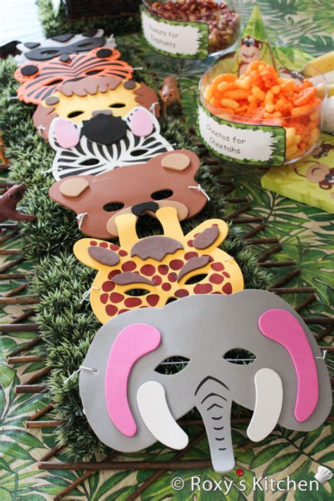 Safari / Jungle Themed First Birthday Party Cheap Party