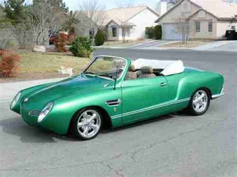 karmann ghia race car sell used karmann ghia street rod custom convertible