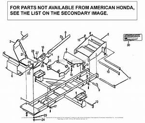 Honda Fl5540 A Lawn Tractor  Usa Parts Diagram For Sub