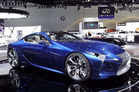 2019 Lexus Lf Lc Blue Concept  Car Photos Catalog 2018