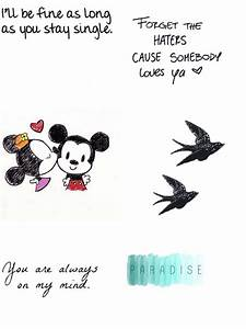 Mickey Mouse Love Quotes. QuotesGram
